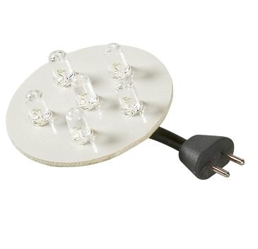 1065101 LED unit 6x white 12V 1W
